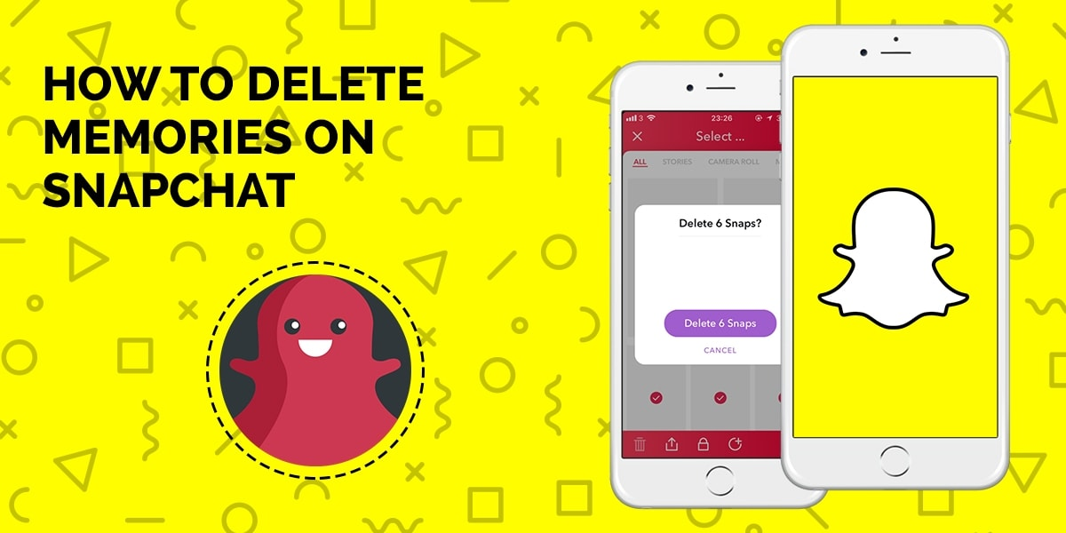 How to Delete Memories on Snapchat