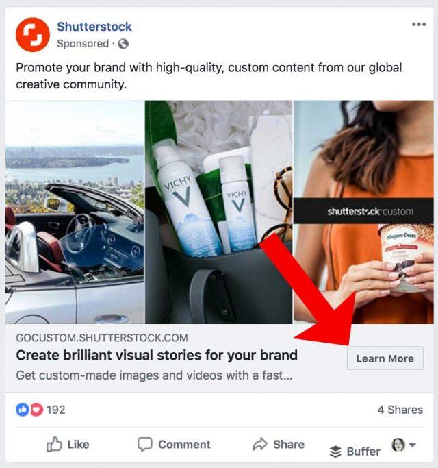 Examples Of CTAs On Social Media