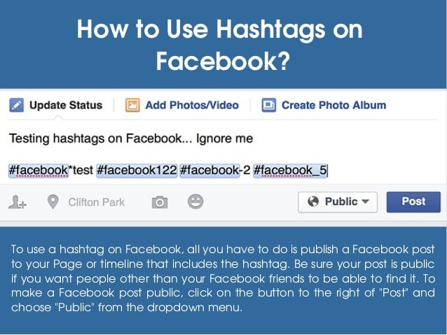 How Can You Use Hashtags on Facebook