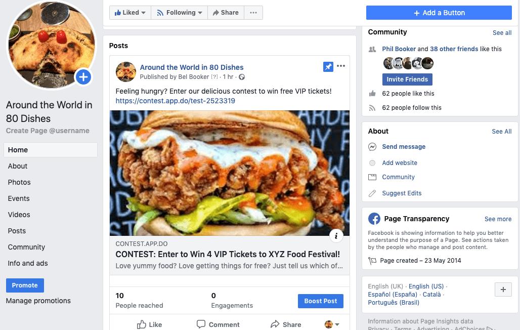 Tips To Run A Facebook Contest