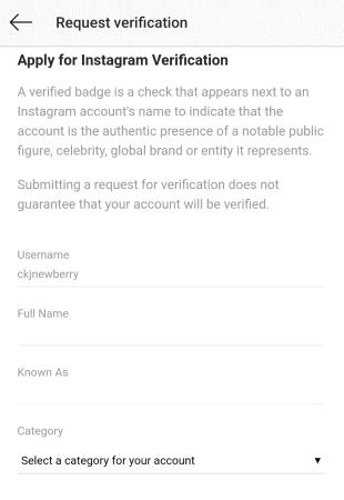 business accounts verification