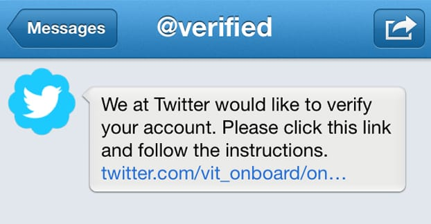 chances to verified on twitter
