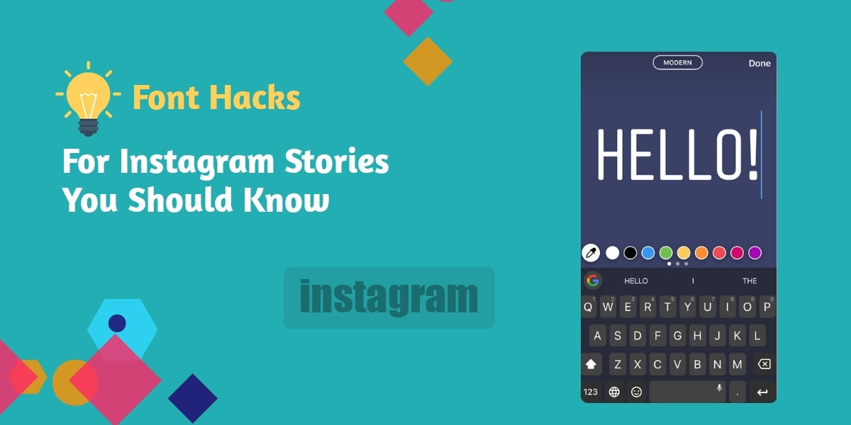 Font Hacks for Instagram Stories You Should Know