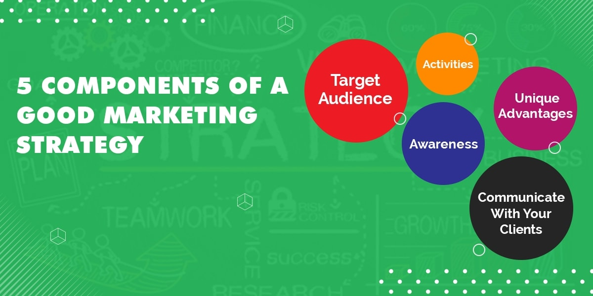 5 Components of a Good Marketing Strategy