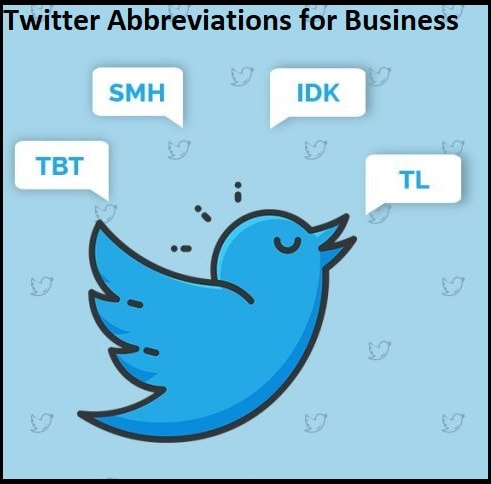 Twitter Abbreviations for Business
