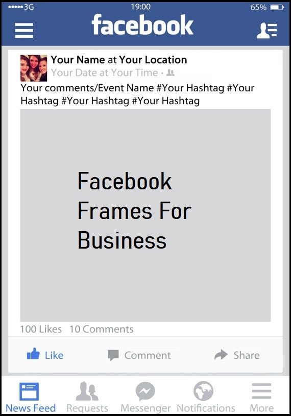 facebook frames for business