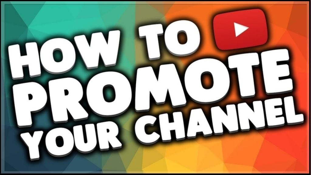 promote youtube channel
