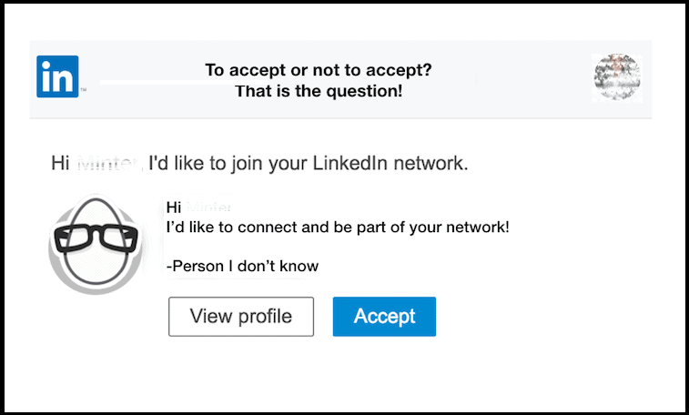 Connection Requests On LinkedIn