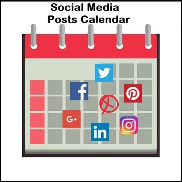 Content Creation Tips For Your Social Media Posts Calendar
