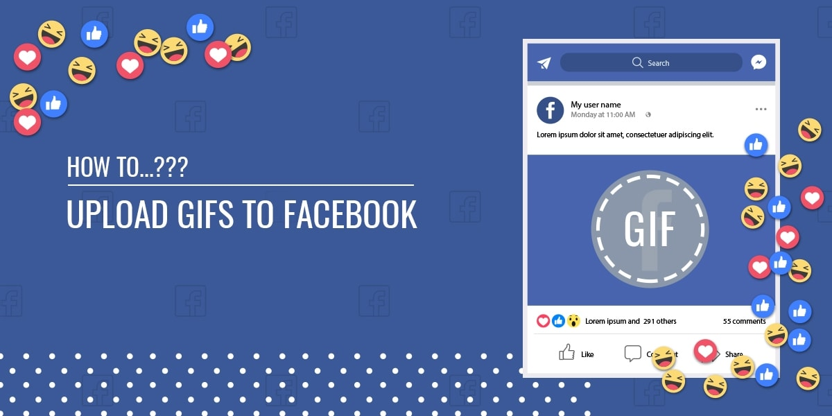 How to Upload GIFs on Facebook