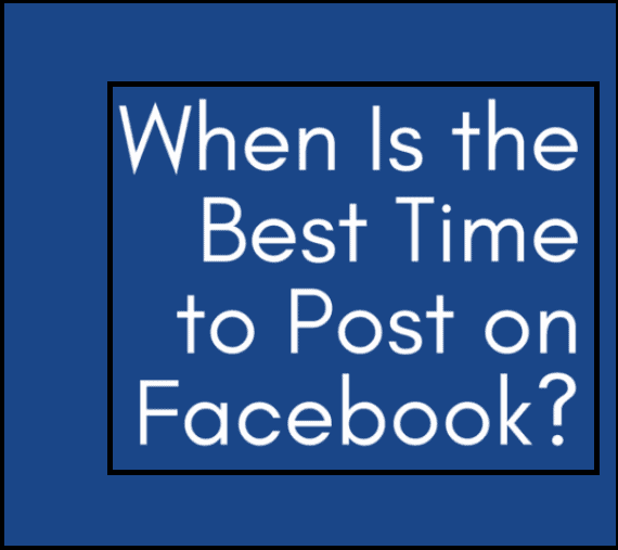 Right Time To Post on Facebook
