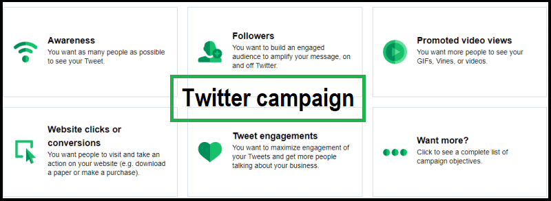 Twitter campaign