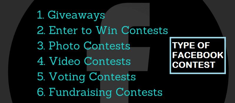 Type of Facebook Contest