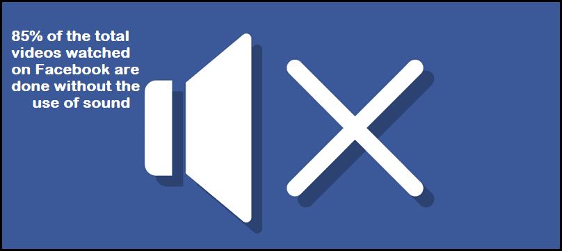 facebook videos sound
