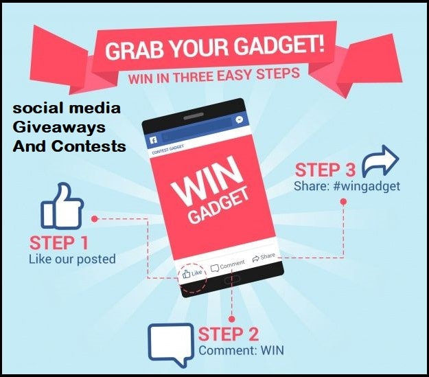 social media Giveaways And Contests