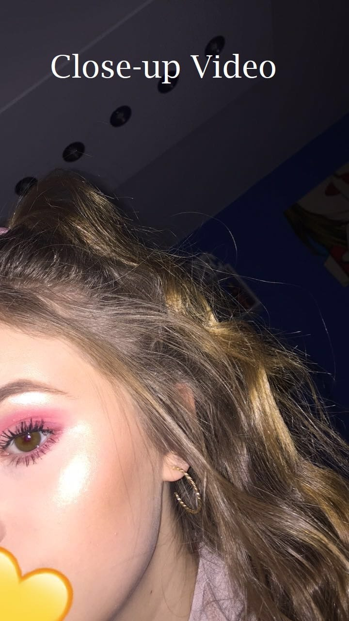 Close-ups In The Video