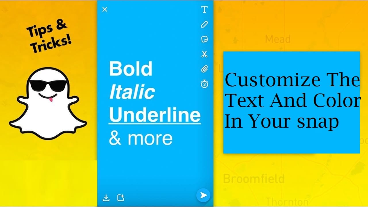 Customize The Text And Color