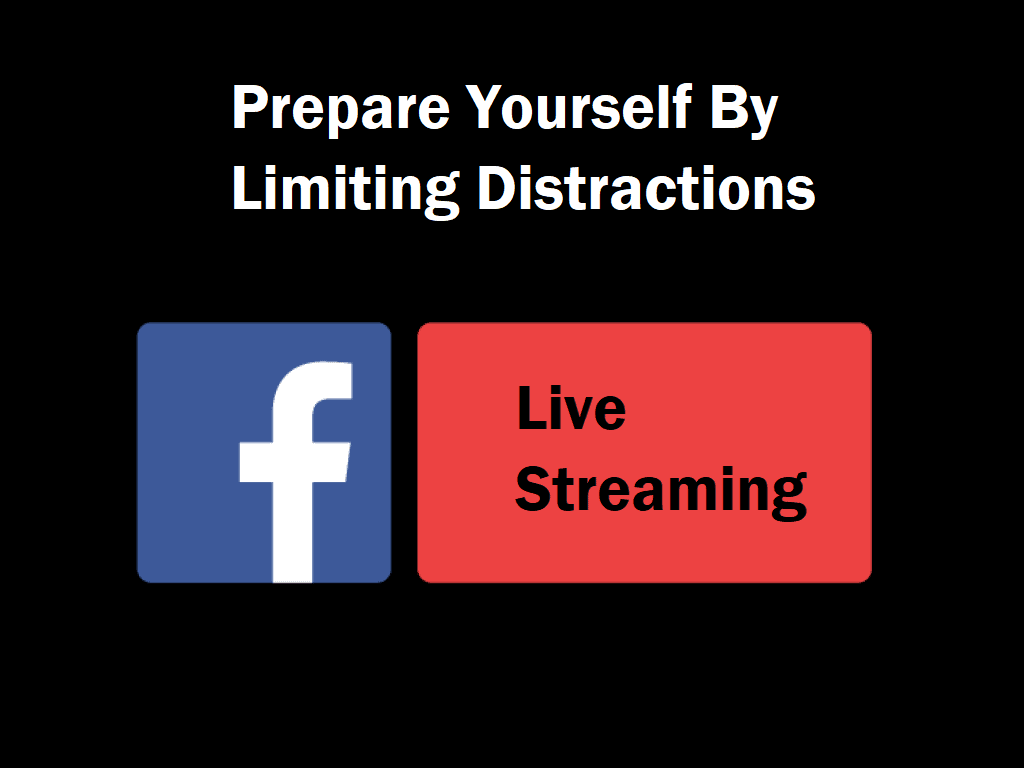 Prepare Yourself By Limiting Distractions