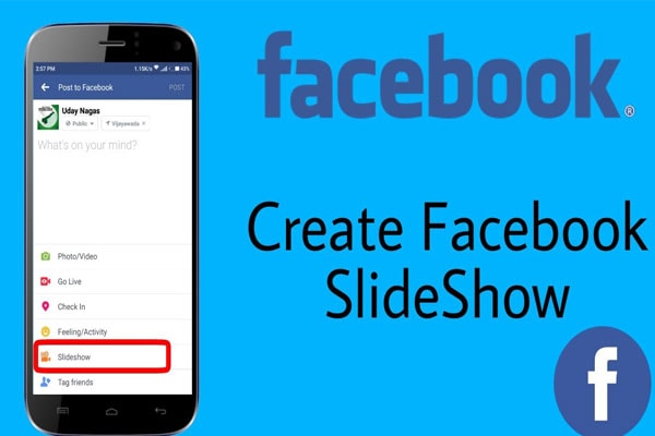 Facebook Slideshows