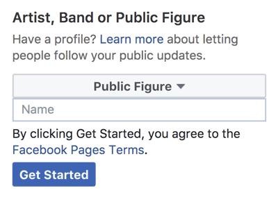 Tips to create Facebook Public Figure Page