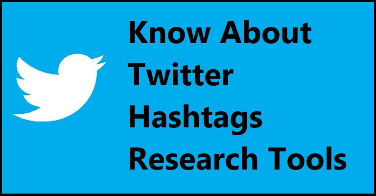 Twitter Hashtags Research Tools