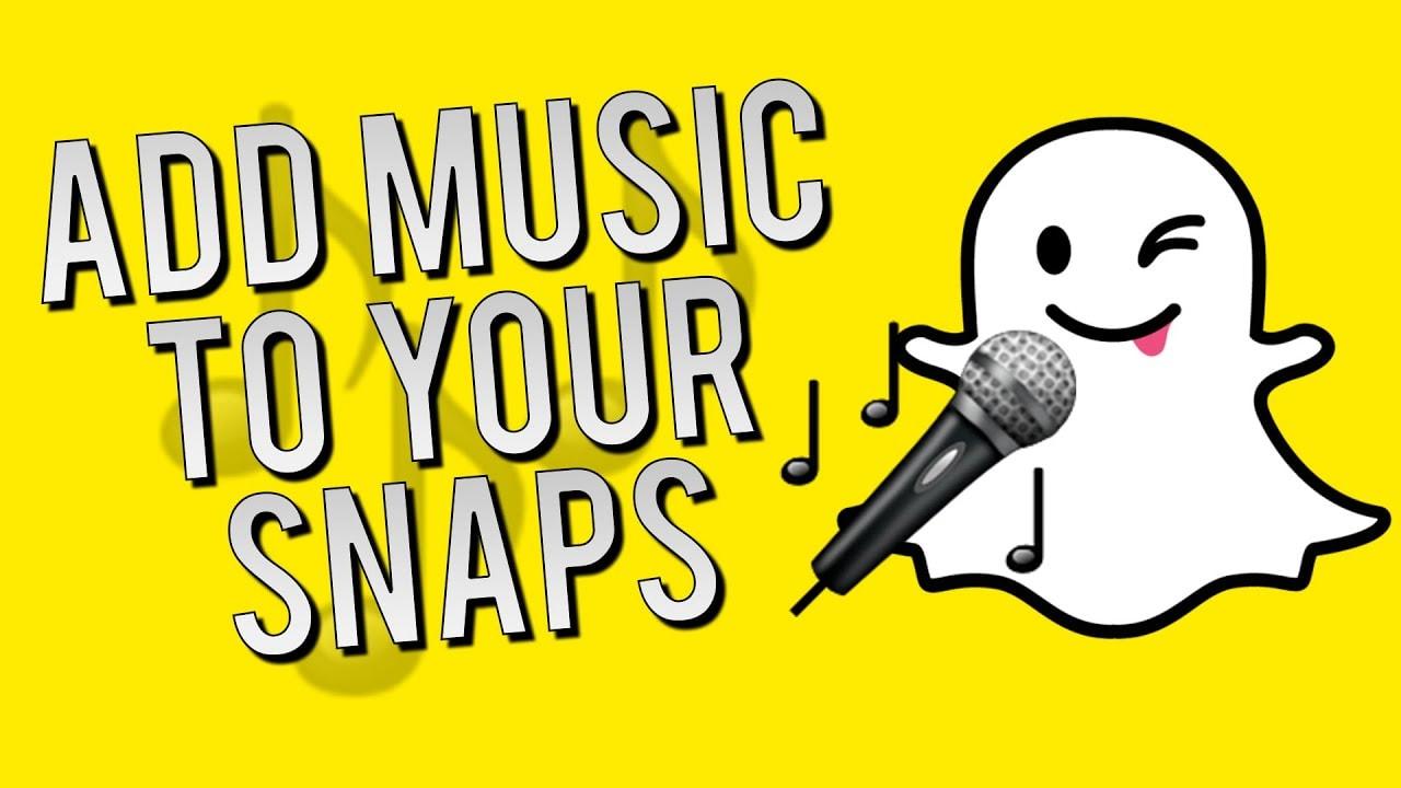 add Soundtrack in snapchat