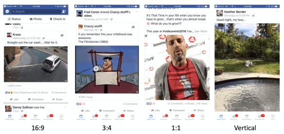 facebook live formatting