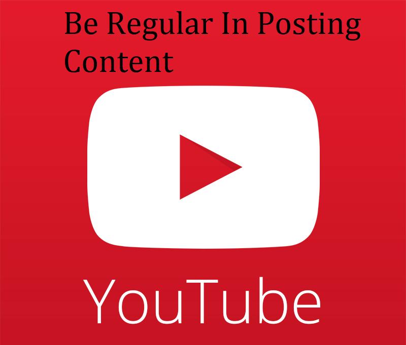 Be Regular In Posting Content