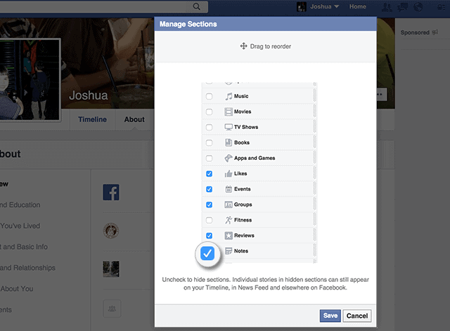Facebook-notes-activate