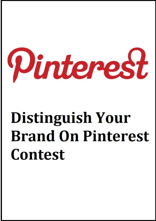 distinguish your brand on pinterest contest