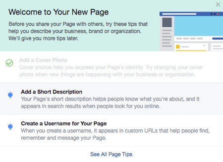 facebook business description