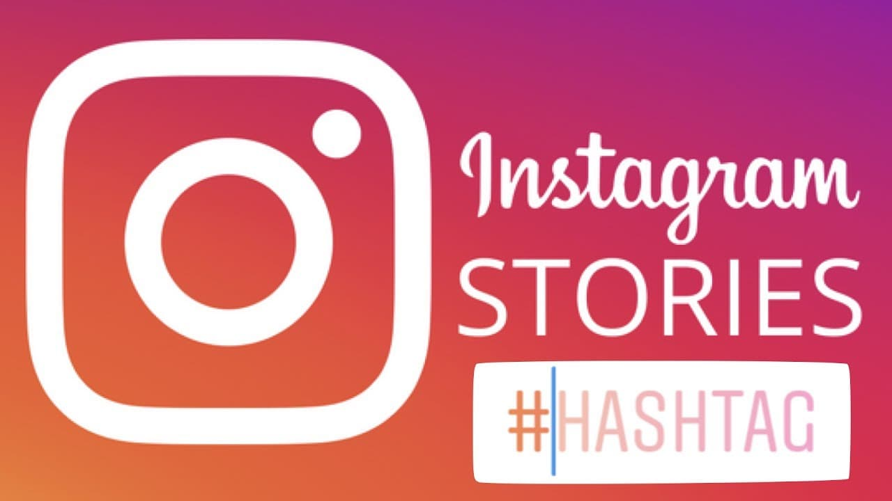 hashtags in instagram story