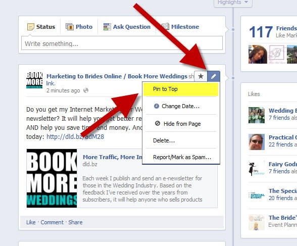 how-to-pin-facebook-post-to-top