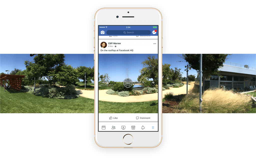Facebook 360° Videos Specifications