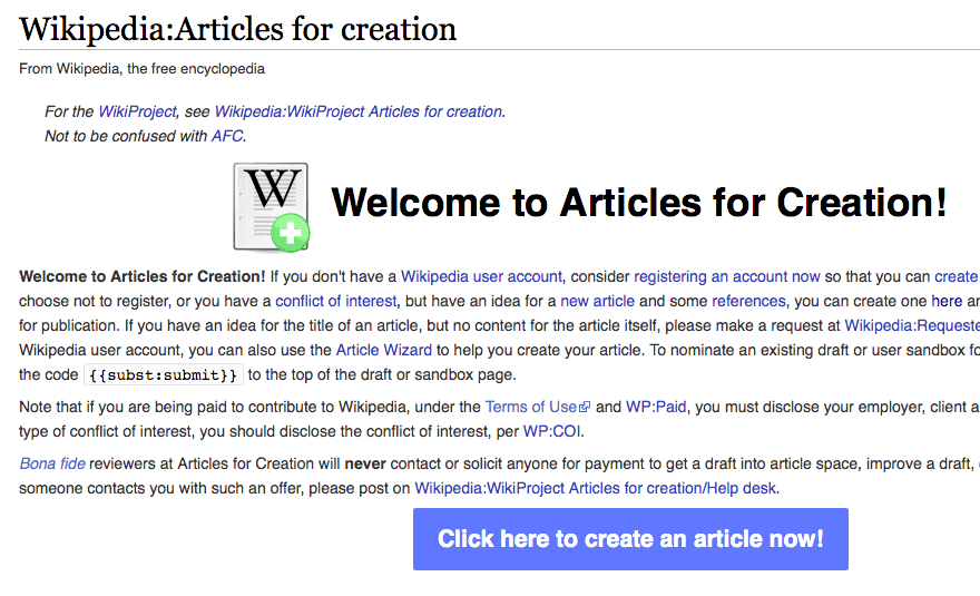 How Can You Create A Wikipedia Page