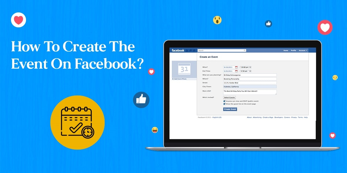 How To Create The Event On Facebook