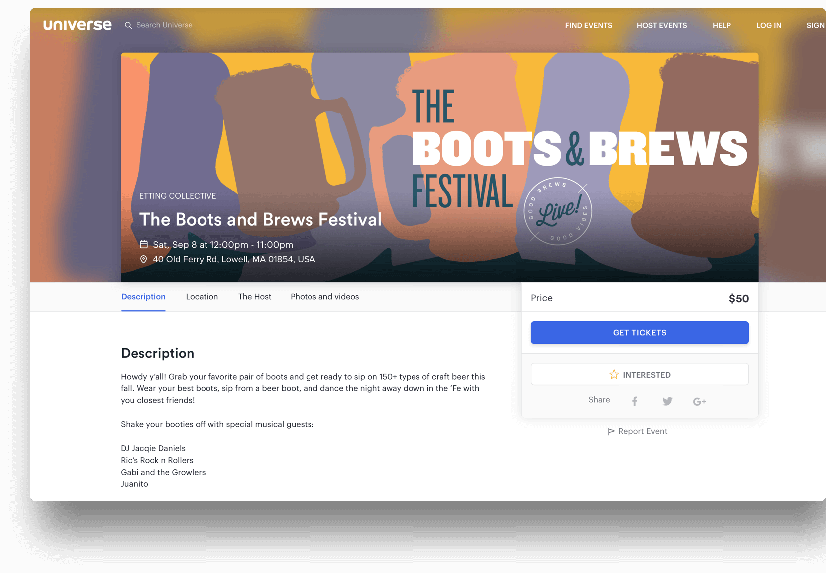 How To Sell Tickets for Your Facebook Event (and Sell Out):