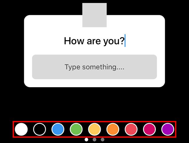 Instagram Question Stickers