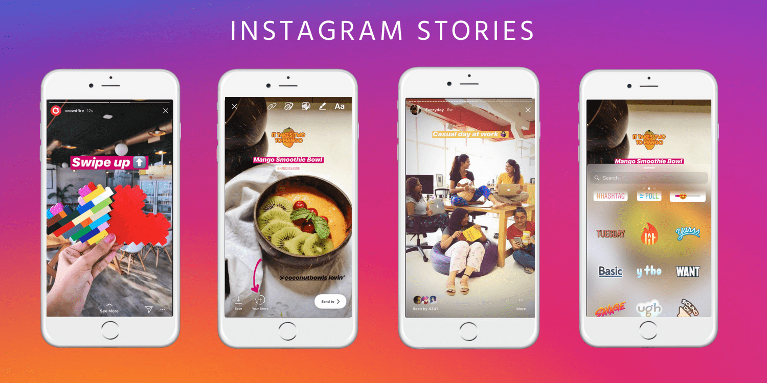 Instagram Stories for brands business