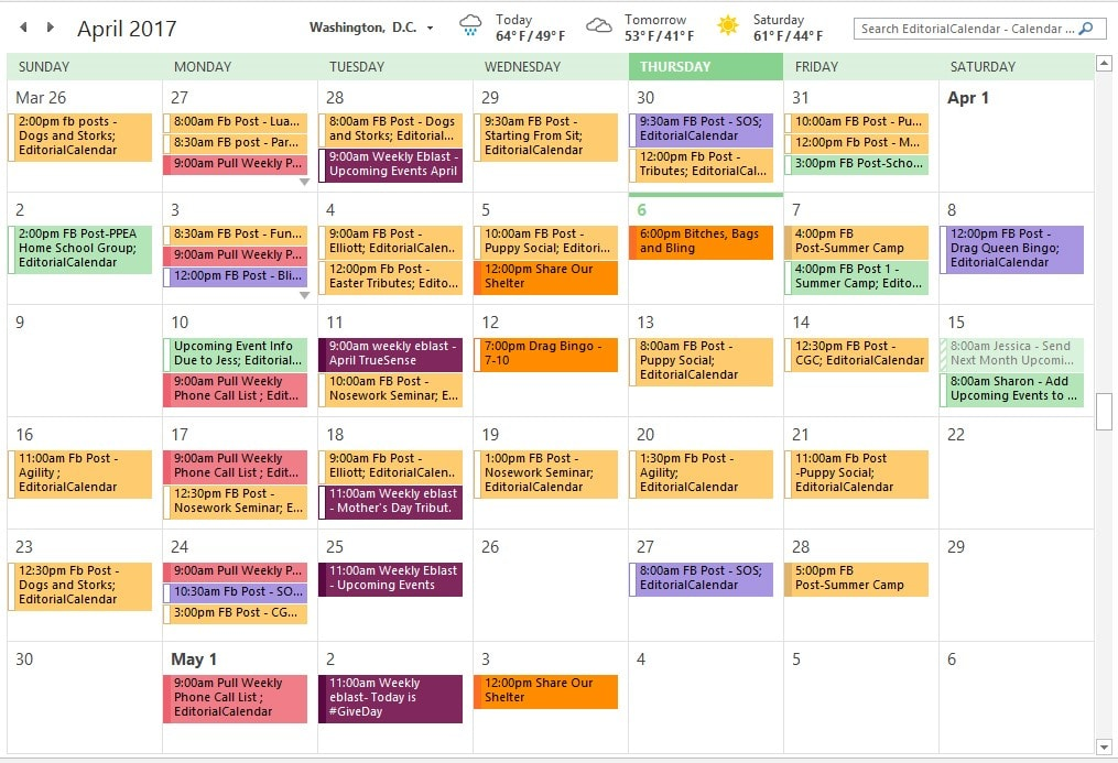 Some Editorial Calendar Tools To Help You Out