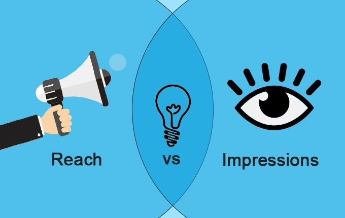 What's the Difference between Reach vs Impressions