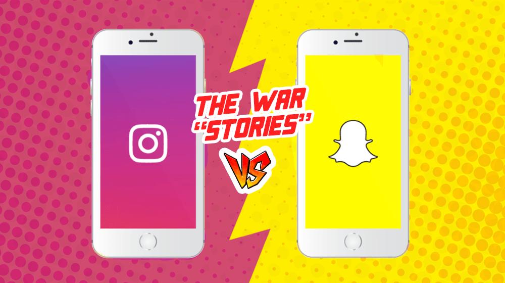 Instagram Stories Vs. Snapchat Stories