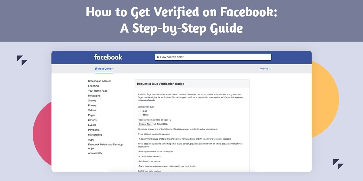 How to Get Verified on Facebook: A Step-by-Step Guide