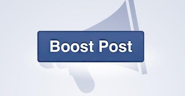 Boost a Facebook Post