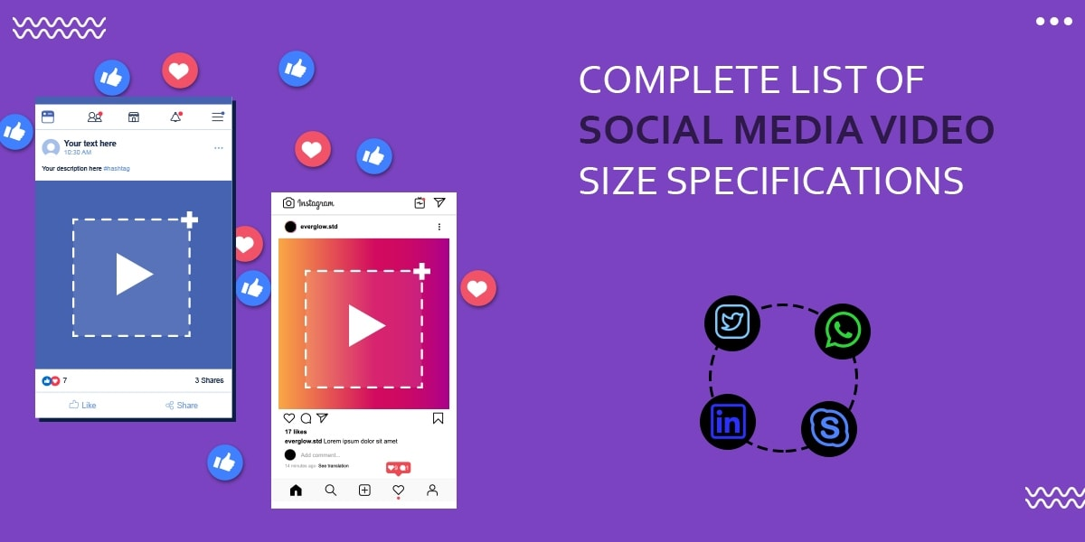 Complete List of Social Media Video Size Specifications in 2020