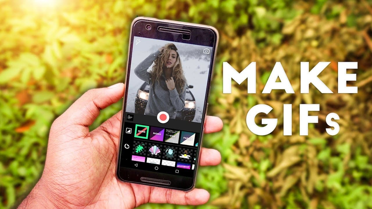 Creating GIF with Mobile: