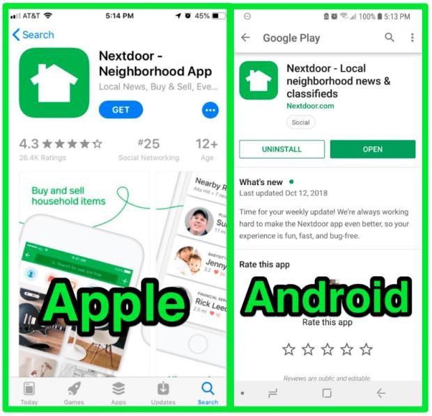 Download nextdoor app