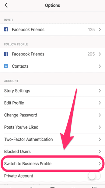 How to Switch to an Instagram Business Profile