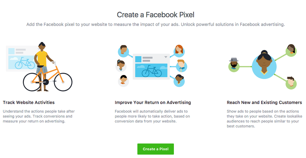 How to create a Facebook pixel and add to your website