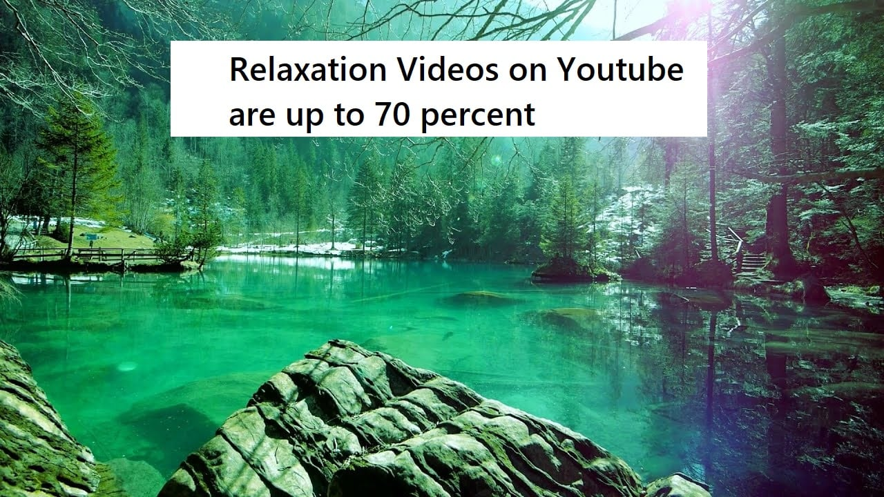 Relaxation Videos on youtube